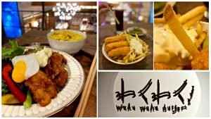 WakuWakuBurger中山美食誠品南西餐廳推薦完整菜單漢堡